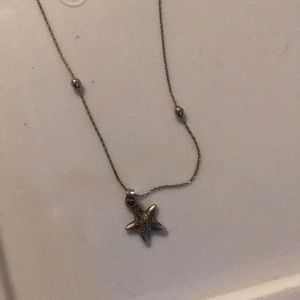 Sterling silver Alex and Ani Expansion necklace
